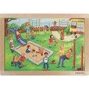 Puzzle Kindergarten 24 Teile 41 Cm