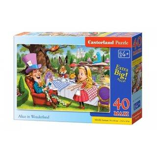 Puzzle Alice Im Wunderland 40 Maxi-Teile