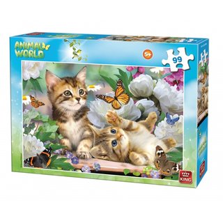 Puzzle Animal Worldkätzchen 99 Teile
