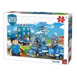 Puzzle Polizei Rescue Teamteam 50 Teile