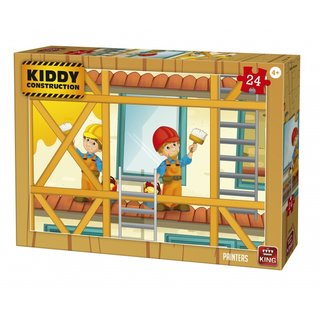 Puzzle Kiddy Constructionmaler 24 Teile
