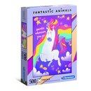 Puzzle Fantastic Animals500 Stück Einhorn