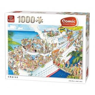 Puzzle Kreuzfahrt Comic Collection1000 Stück
