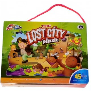 Puzzle The Lost City 45 Teile