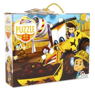 Puzzle Digger Truck45 Teile