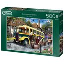 Puzzle Catching The Bus500 Teile