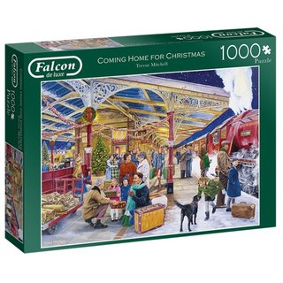 Puzzle Coming Home For Christmas1000 Teile