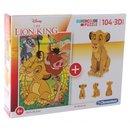 Puzzle Mit Bausatz Die Lion King104 Teile