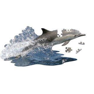Puzzle Delphin Blau 100 Teile