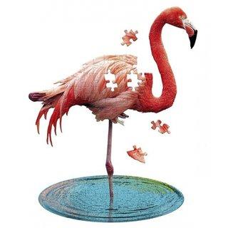 Puzzle Flamingo Rosa 100 Stück