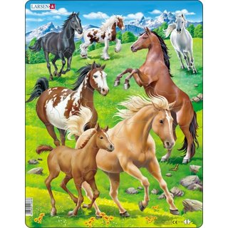 Puzzle Maxi Paarden65 Teile