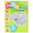 Dschungel-Puzzle-Set Inkl. 6 Rätsel