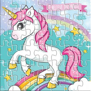 Puzzle I Believe In Magic 25 X 20 Cm 42-Teilig