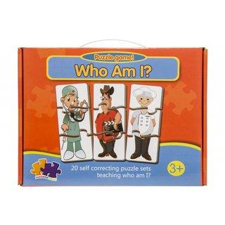 Wer Bin Ich? 20 Puzzles Mehrfarbig