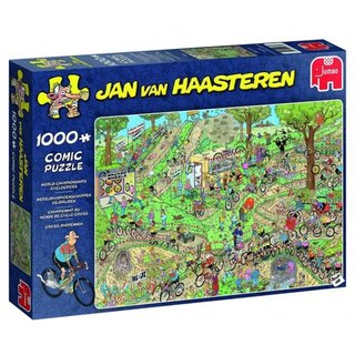 Puzzle Jan Van Haasterenwc Cyclo-Crossing 1000 Teile