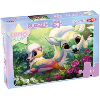 Kinderpuzzle Lumo Stars Füchse 56 Teile