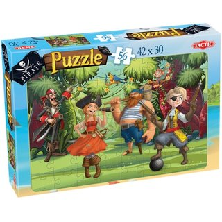 Puzzle Piratejungle Jam 56 Teile
