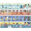 Sequencepuzzle-Geschichten 4 X 8 Teile