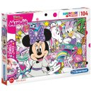 Puzzle Minnie Mousejuwelen 104 Teile