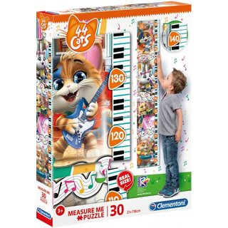 Puzzle Maß Mich 44 Cats30 Teile