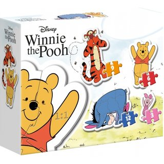 Puzzle My First Puzzlewinnie The Poo 4 Puzzles