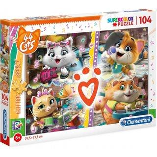 Puzzle Mit 44 Cats104 Teilen