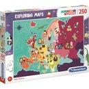 """Puzzle """"Karten Erforschen"""": Berühmtheiten..."""