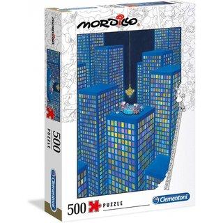 Puzzle Mordillo- Abendessen 500 Teile