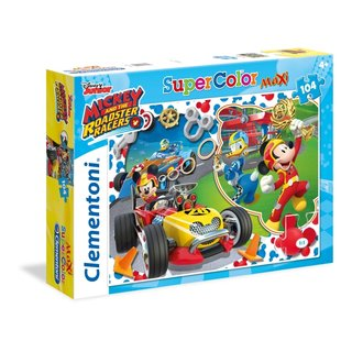 Puzzle Mickey Mouse Racers 104 Teile