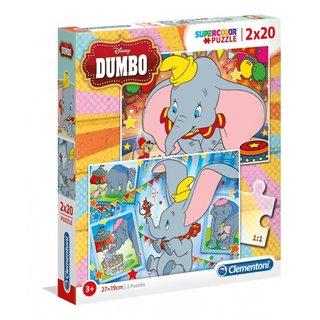 Puzzle Crazy Circus 104 Teile 62 X 42 Cm