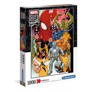 Puzzle - Marvel80 Jahre Jubiläum 1000 Teile
