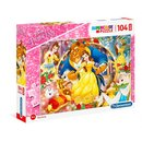 Puzzle Disney Belle & The Beast 104 Teile