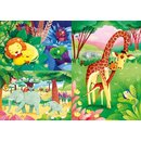Puzzle Dschungelfreunde 48 Teile 3 Teile