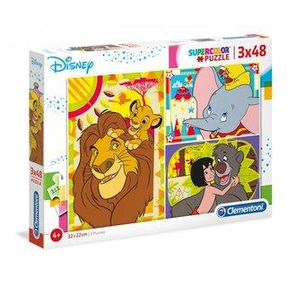 Puzzle Disney Classic 48 Teile 3 Teile