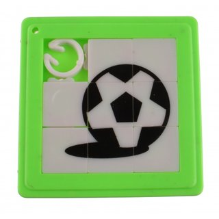 Schiebepuzzle Fußball 5 Cm Grün 8 Teile