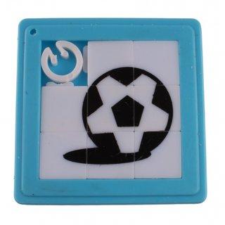 Schiebepuzzle Fußball 5 Cm Blau 8 Teile