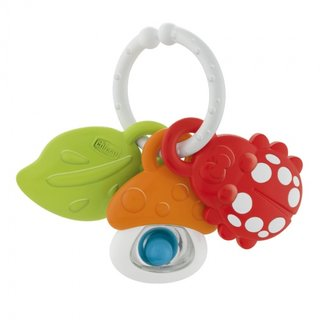 Greifer/Rumbler Nature Friends13 Cm Weiß/Rot