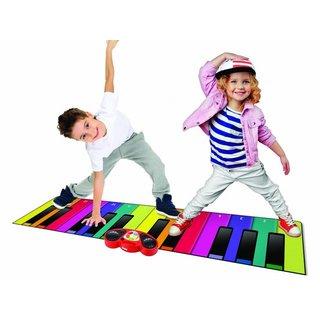 Spielmatte Klavier Xxl180 Cm Mehrfarbig