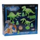 Kit Of Glow In Den Dunklen Dinosauriern