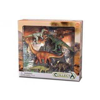 Vorgeschichte: Dinosaurier-Spielset 6-Teilig