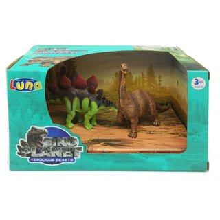 Spielset Dinosaurier 2-Teilig