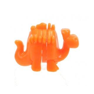 Bausatz Mini-Dino Orange 3 Cm