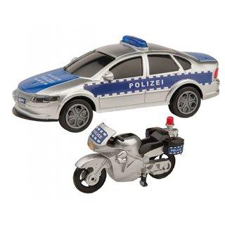 Polizeifahrzeuge Mit Zubehör 6-Teilig
