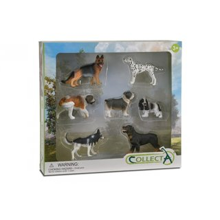 Hunde: Spielset In Geschenkbox 7-Teilig