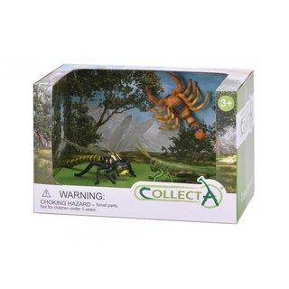 Insekten: Spielset In Geschenkbox 3-Teilig