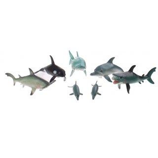 Die Animal World Der Animal World Playset Ozean Tiere 7 Stück