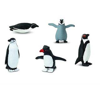 Pinguin Kollektion Schwarz/Weiß 5-Teilig
