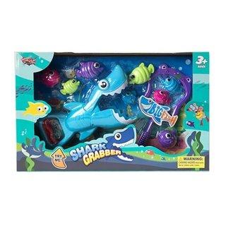 Spielset Hai-Greifer Blau/Lila Groß 30 Cm