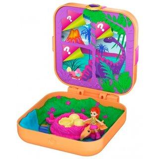 Polly Pocket Hidden Hideoutslila Dinosaurier