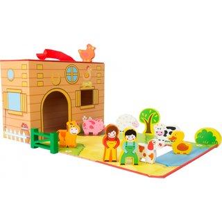 Bauernhof Spielzeugkoffer 41 Cm
